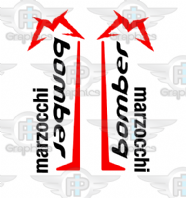 Marzocchi Bomber Old Skool Custom Decals